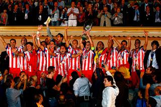 FÚTBOL-El mejor de Europa vuelve a ser el Atlético de Madrid