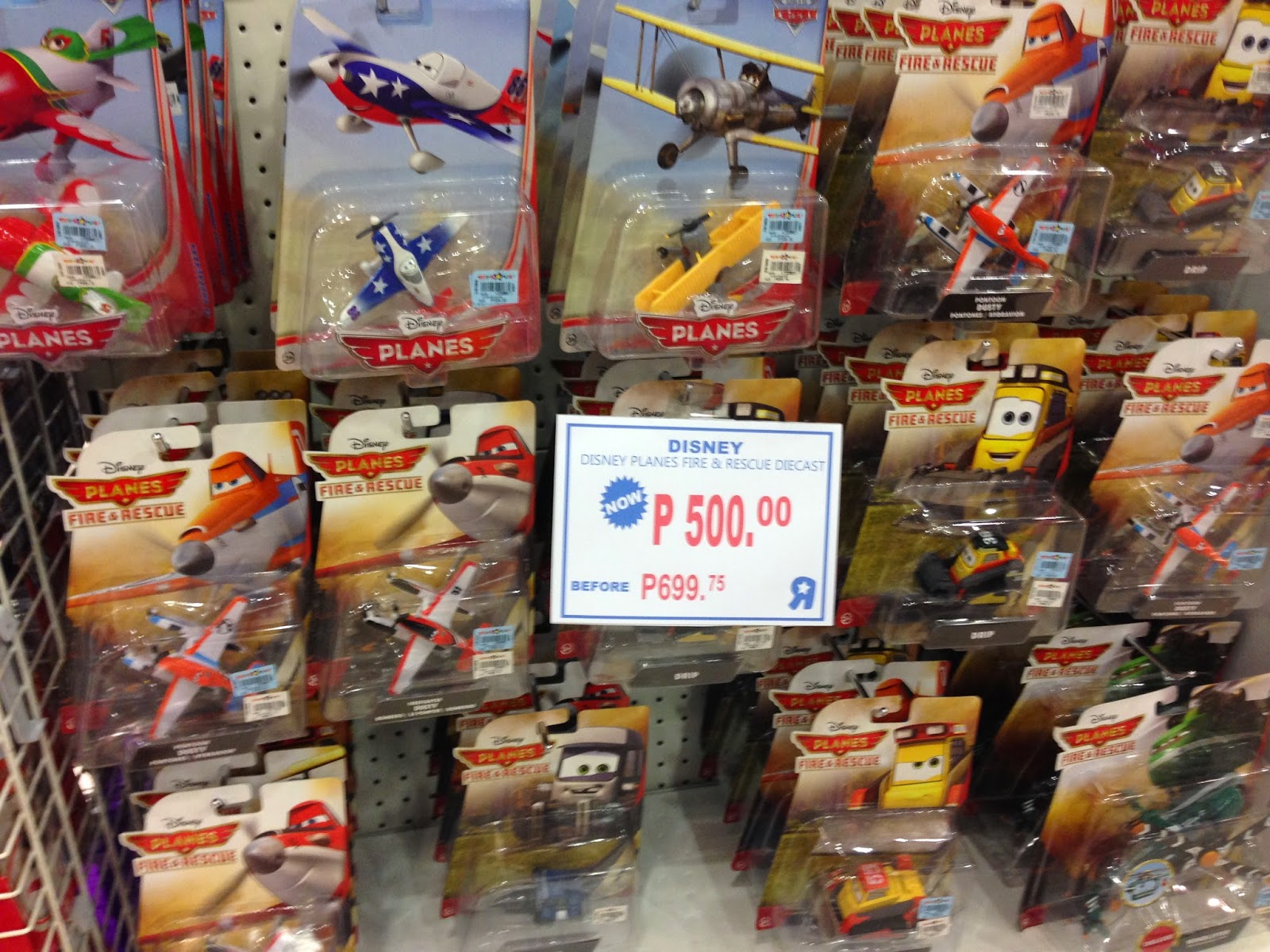 Toy Sale in Manila, Philippines 2015 : Disney Planes Die-Cast Toys on SALE