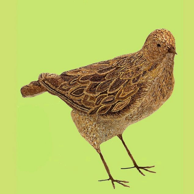 mosaic bird sculptures dusciana bravura-3