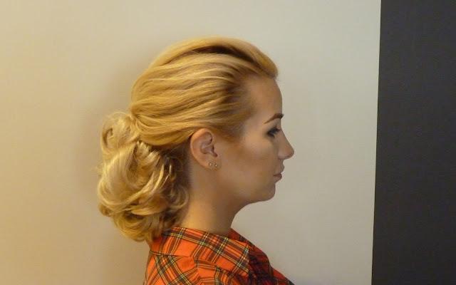 szkolenie z upięć fryzjeris akademia organics beauty