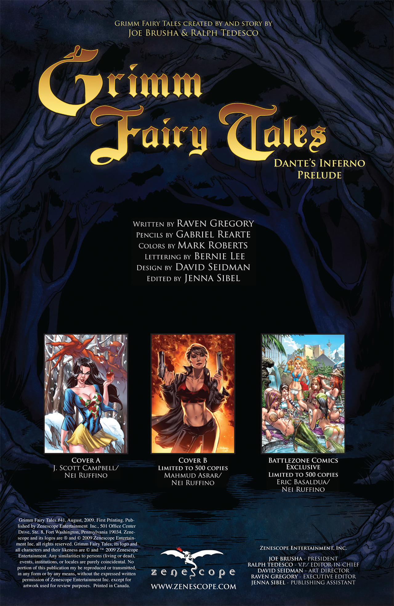 Grimm Fairy Tales (2005) Issue #41 #44 - English 2
