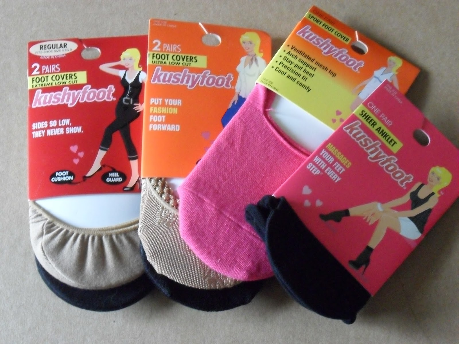 Kushyfoot, more than socks: a fashion statement . Review