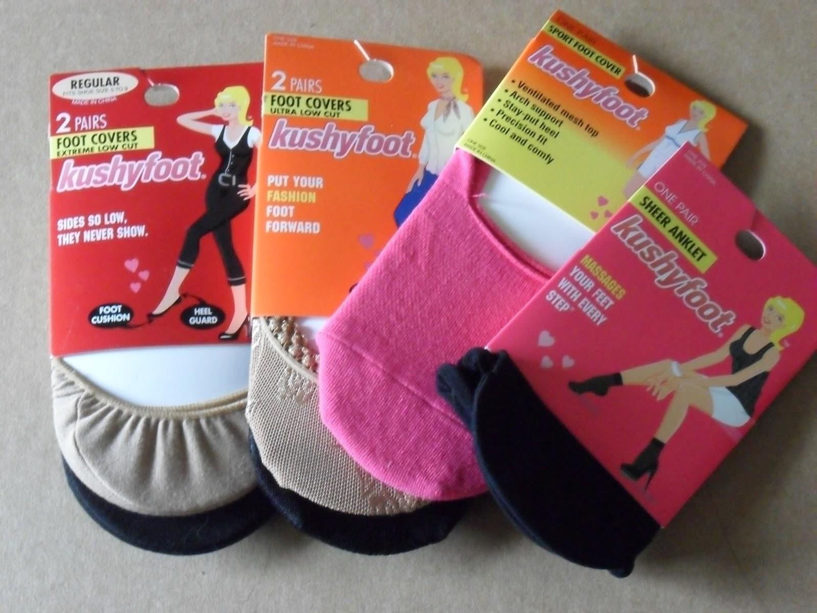 Kushyfoot, more than socks: a fashion statement . Review