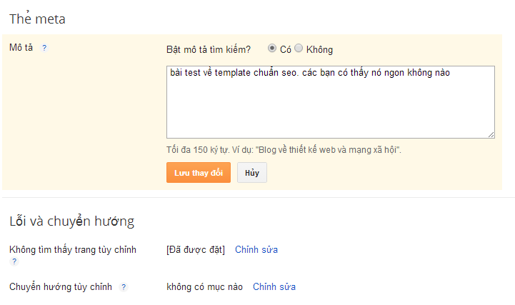 Tối ưu hóa seo cho blogger hay blogspot