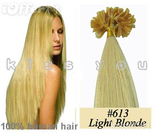 light blonde color in 20 in.