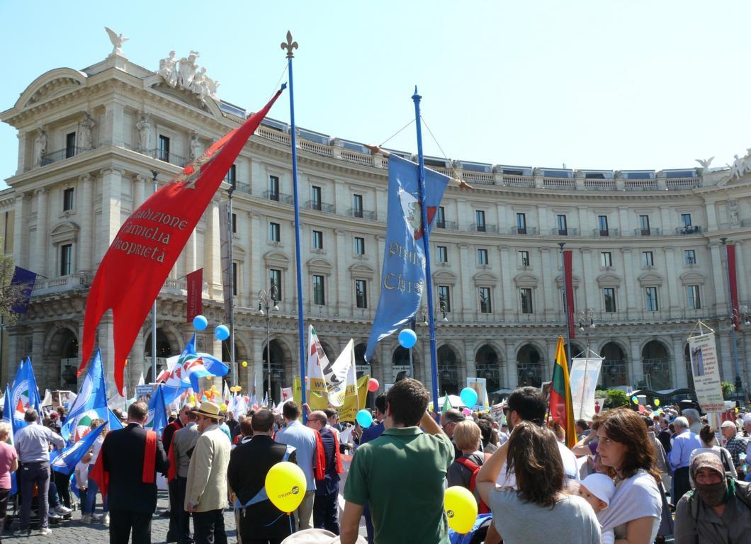 8ª edição da Marcha pela Vida 2018, em Roma