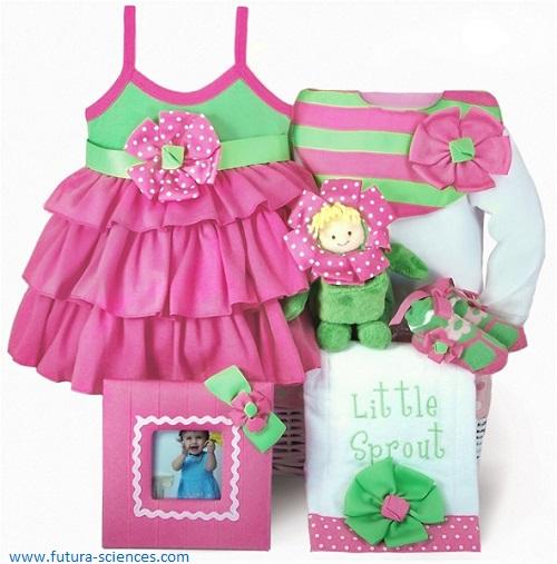 Idée cadeau bébé fille 3 mois