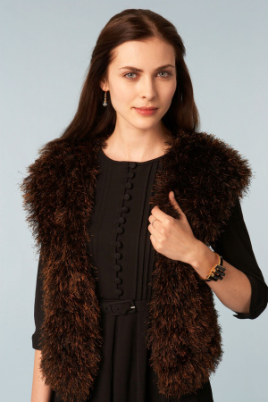 Positively Crochet Fur Vest Fashion Trend 5 Free Crochet Knit