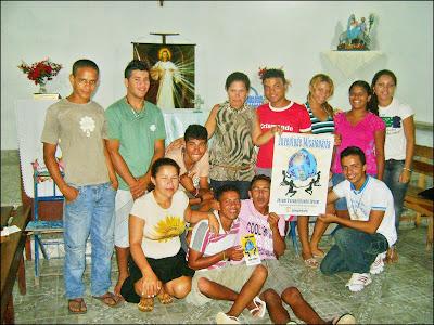 Juventude Missionária é apresentada em Tutóia/MA