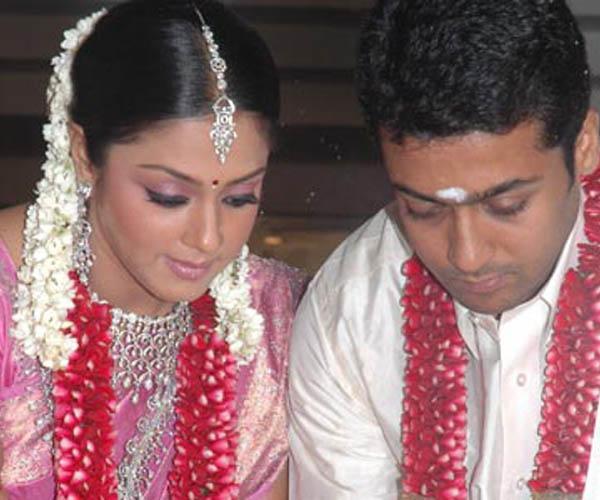 Jyothika Photos 2012 Surya Jyothika Wedding Photos