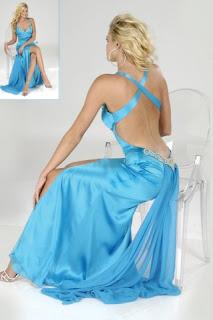 Women fashion blog Blue Bridesmaid Dress