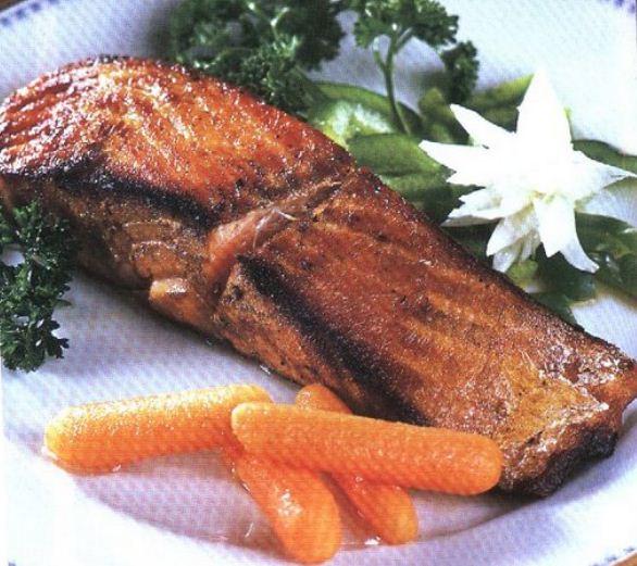 Como cocinar un rico salm n recetariosenlinea for Como cocinar salmon