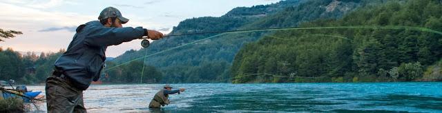 Pesca a msoca en la patagonia en la región de chile