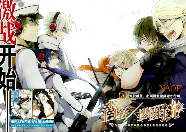Anime Action Terbaik Aoharu x Kikanjuu
