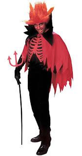 Halloween Kostume Djævlemand