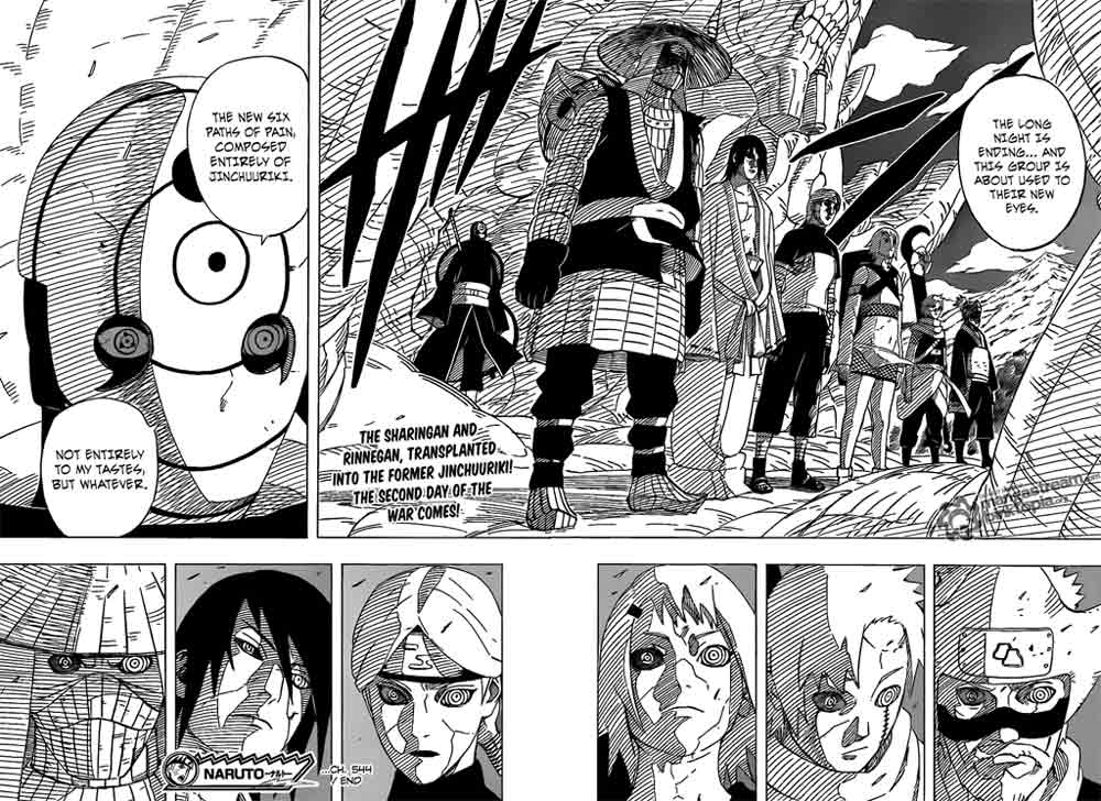 naruto manga chapter 544