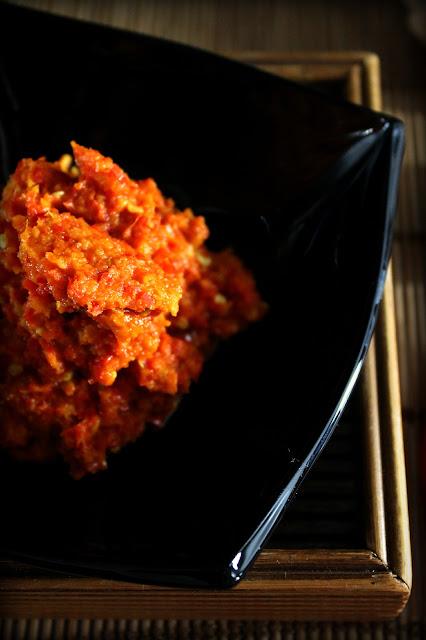 Sambal oelek, salsa picante indonesia