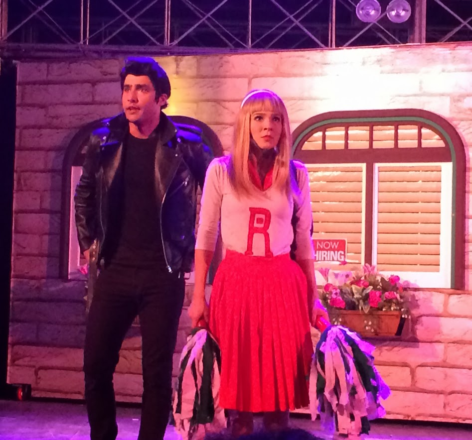 Grease The Musical Pakistan - Ali Ahmed as Danny and Ayesha Omer as Sandy
