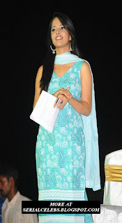 Anasuya Sakshi Tv anchor