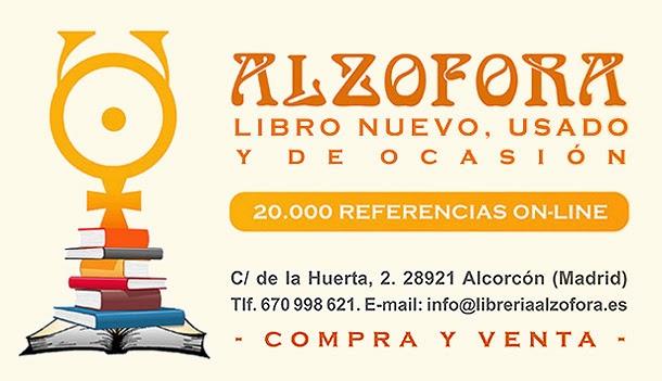 Disponible en librería ALZOFORA de Alcorcón (Madrid)
