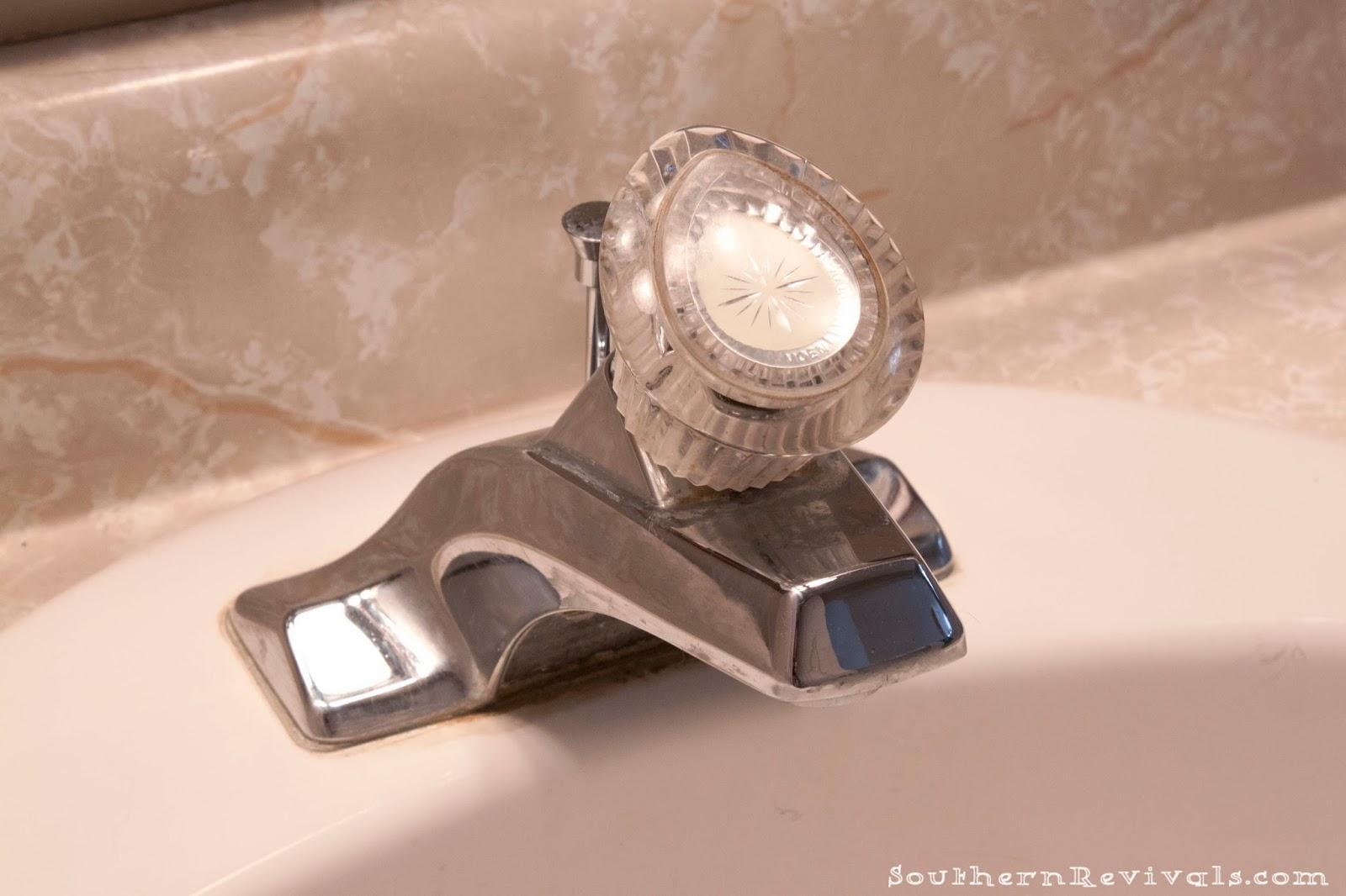 quick easy bathroom update moen boardwalk faucet install - Moen Boardwalk