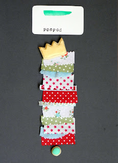 Peapod inspired colors featuring the fairy tale the princess and the pea!