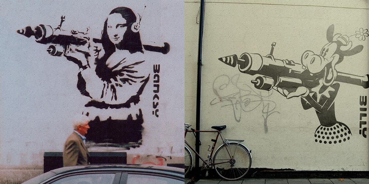 Butcher Billy Bullies Banksy | The Coloring Book Series | LasMilVidas