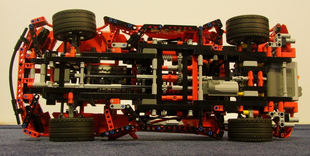 Lego 8070 инструкция