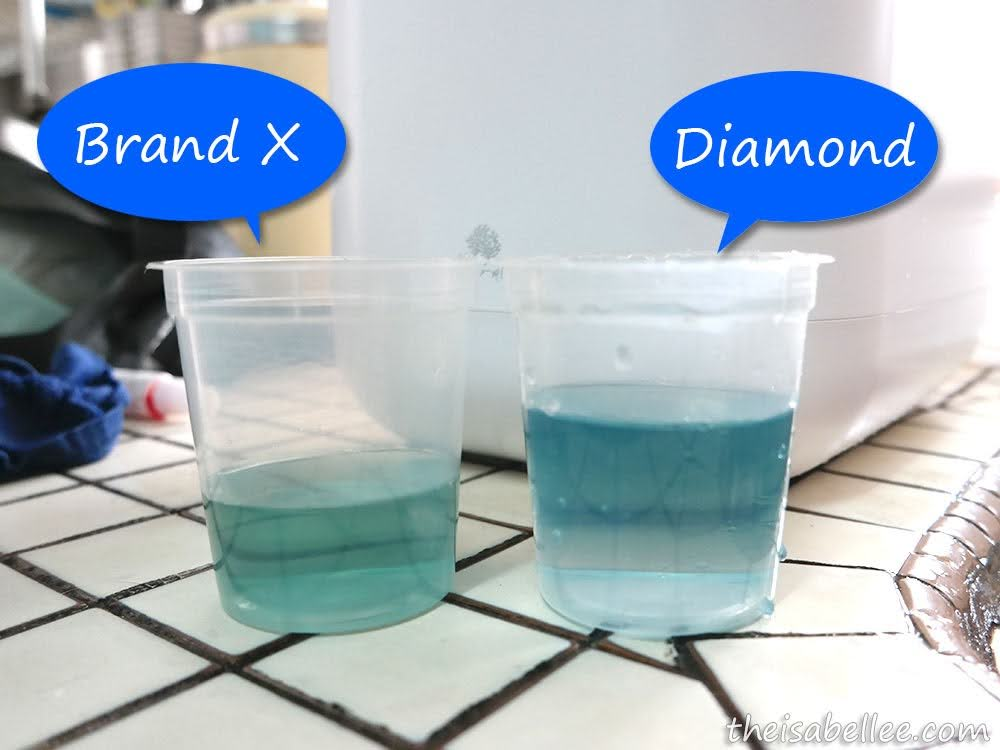 how to tell if a diamond is real with water
