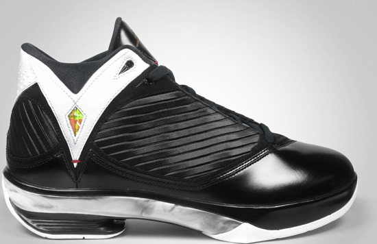 Air Jordan 2009 HOF (09 05 2009) 371499-031 Black Varsity  Red-White-Metallic Gold