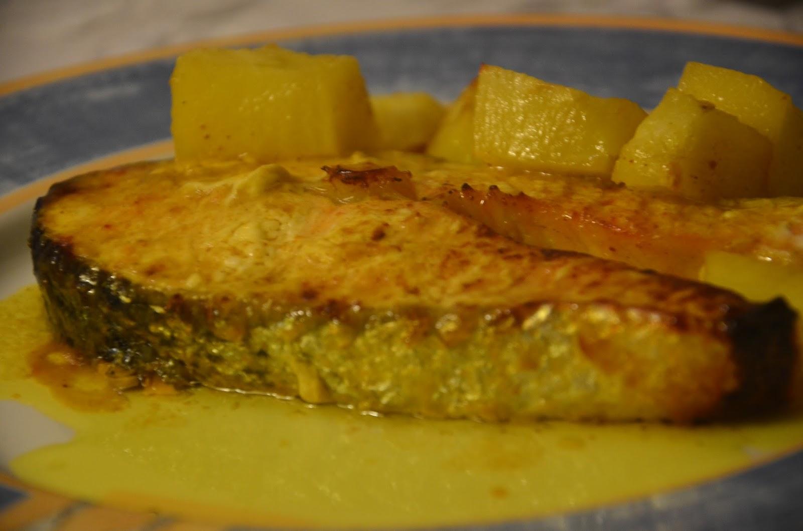Fırında Portakallı Somon ve Balık Sofrası