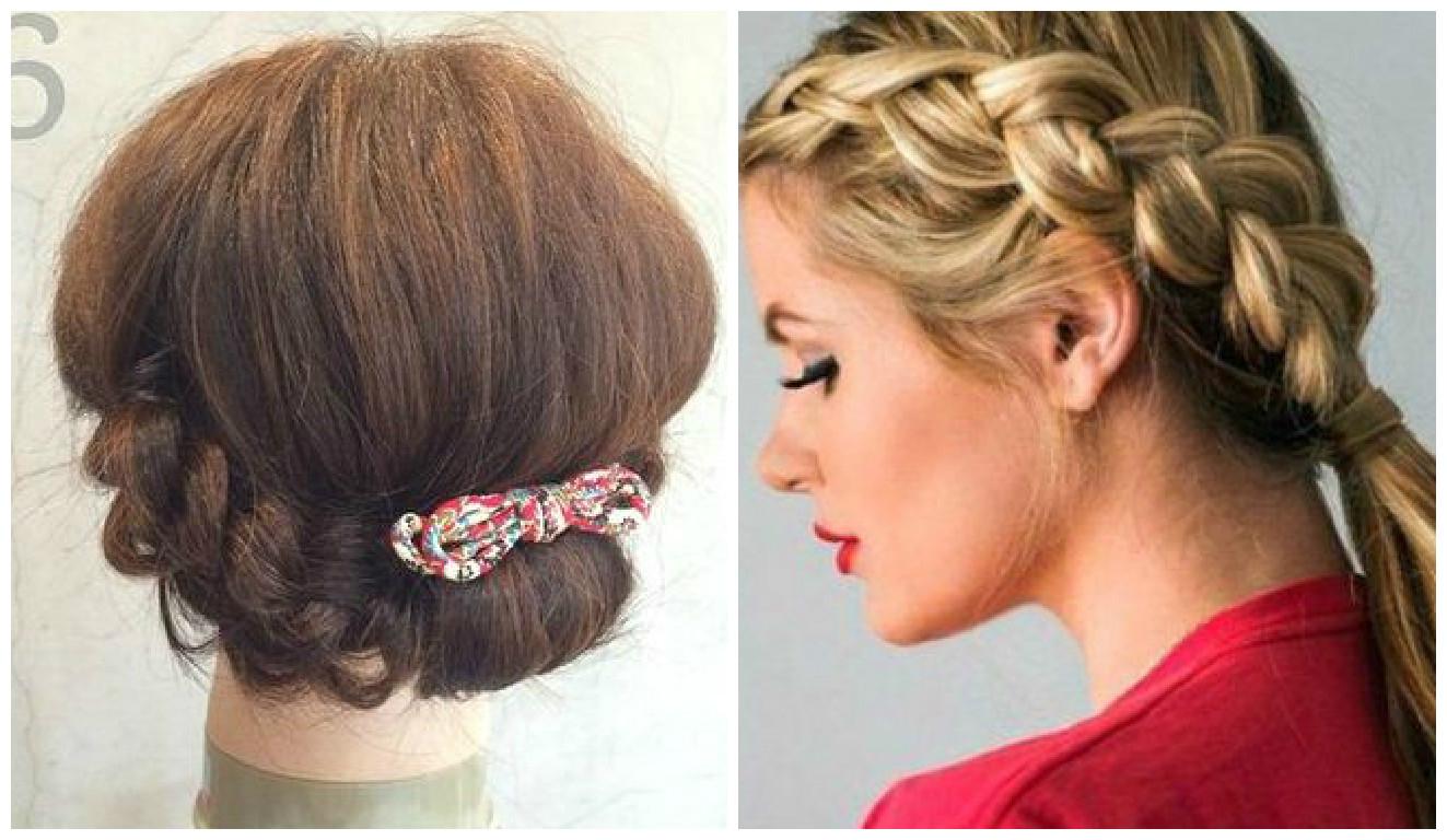 C mo hacer peinados bonitos y r pidos paso a paso for Recogidos bonitos y sencillos