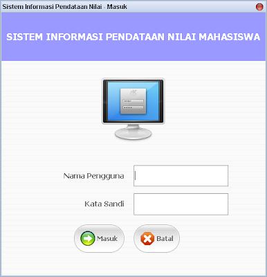 Sistem Informasi Akademik - Pendataan Nilai dengan Netbeans Java dan Database MySQL