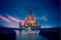 castello della Disney con logo