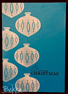 Sparkly Contempo Christmas Cards by Bekka.  Love the clean design.  www.feeling-crafty.co.uk