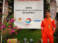 On Job Training di Total E&P Indonesie