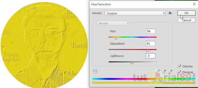 Cara mudah membuat koin emas dengan photoshop