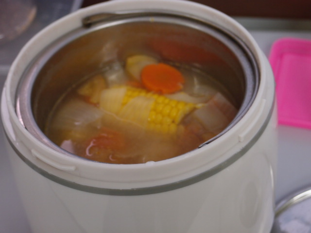 how to cook corn meat in a thermal cooker