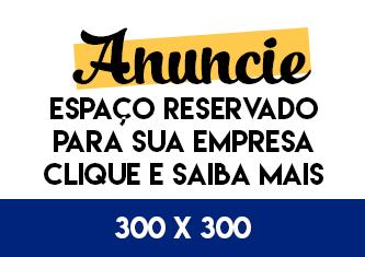 ESPAÇO PRA PUBLICIDADE