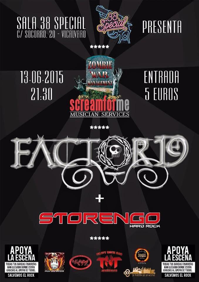 FACTOR 19 & STORENGO EN CONCIERTO