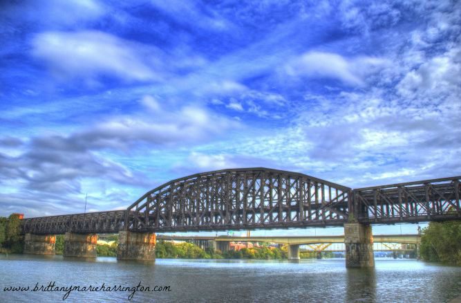 Pittsburgh, Colorful, Photography, City, Bridge, Art