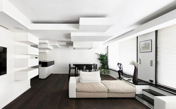 Modern Interior Roof Design Ideas
