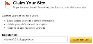 claim site
