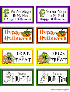 Halloween Tag Printable by Kims Kandy Kreations