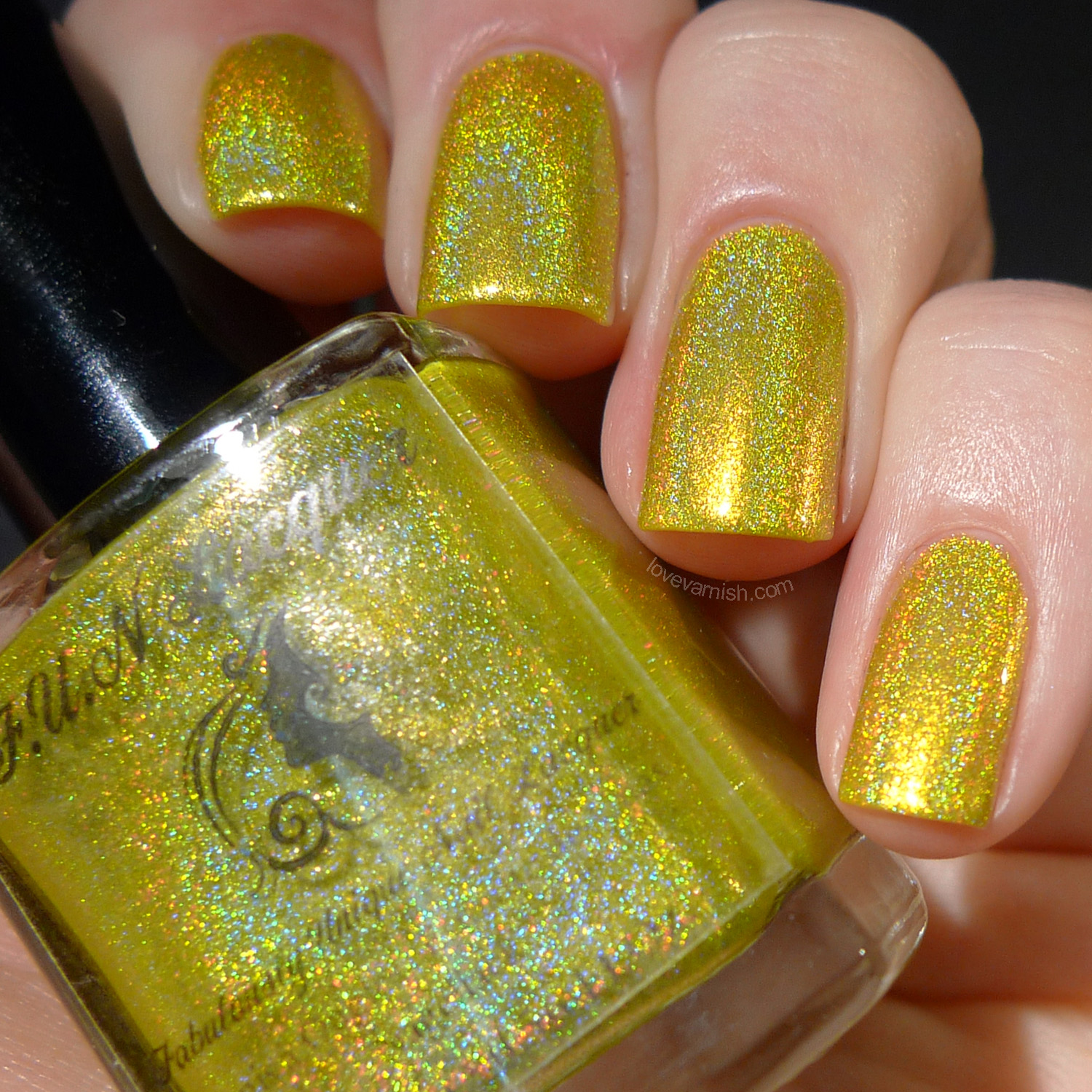 F.U.N Lacquer Summer 2014 Margarita Cocktail holographic