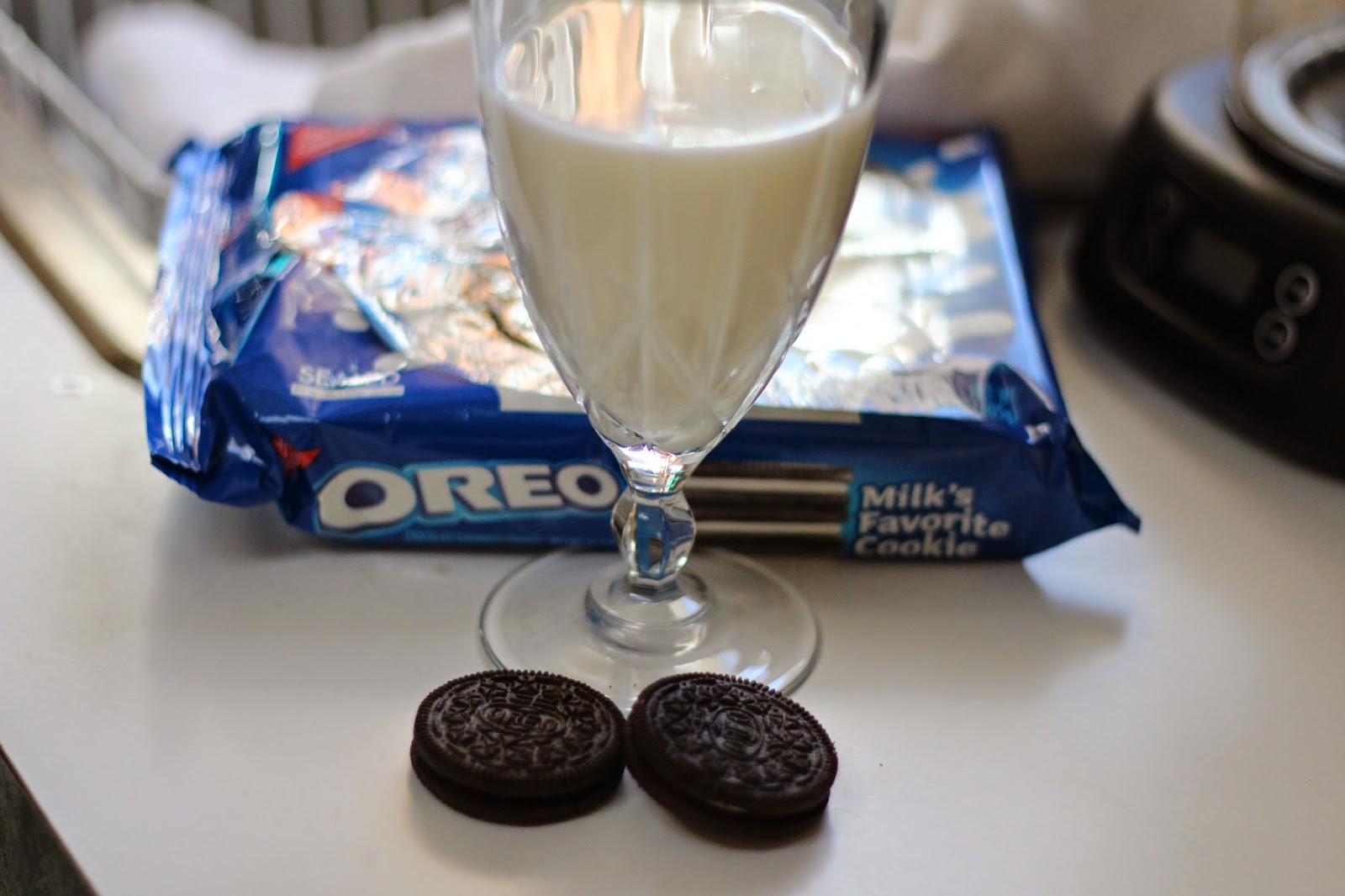 The best day ever Oreos and milk