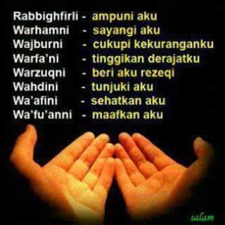 Doa+Untuk+Diri+Sendiri Gambar DP BBM Islami Terbaru