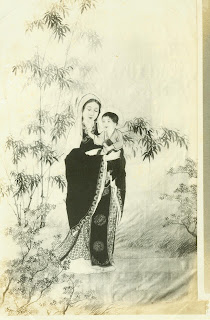 Kuan yin, Mary, lady Wisdom, mercy, justice,humility