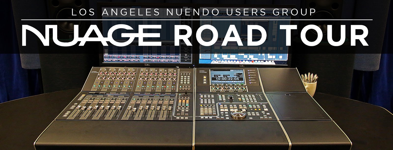 Nuage Road Tour And Nuendo Masterclass August 5th 5