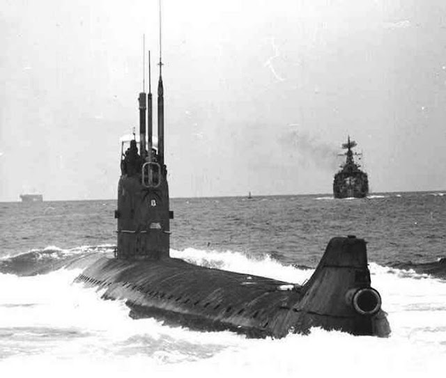 Project 645 class SSN - K-27